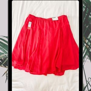 BRAND NEW Old Navy pink flowy skirt